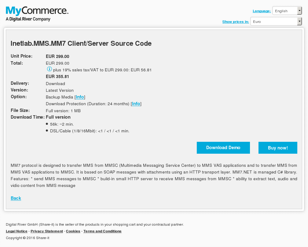 Inetlab Mms Client Server Source Code