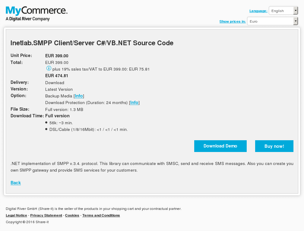 Inetlab Smpp Client Server Net Source Code