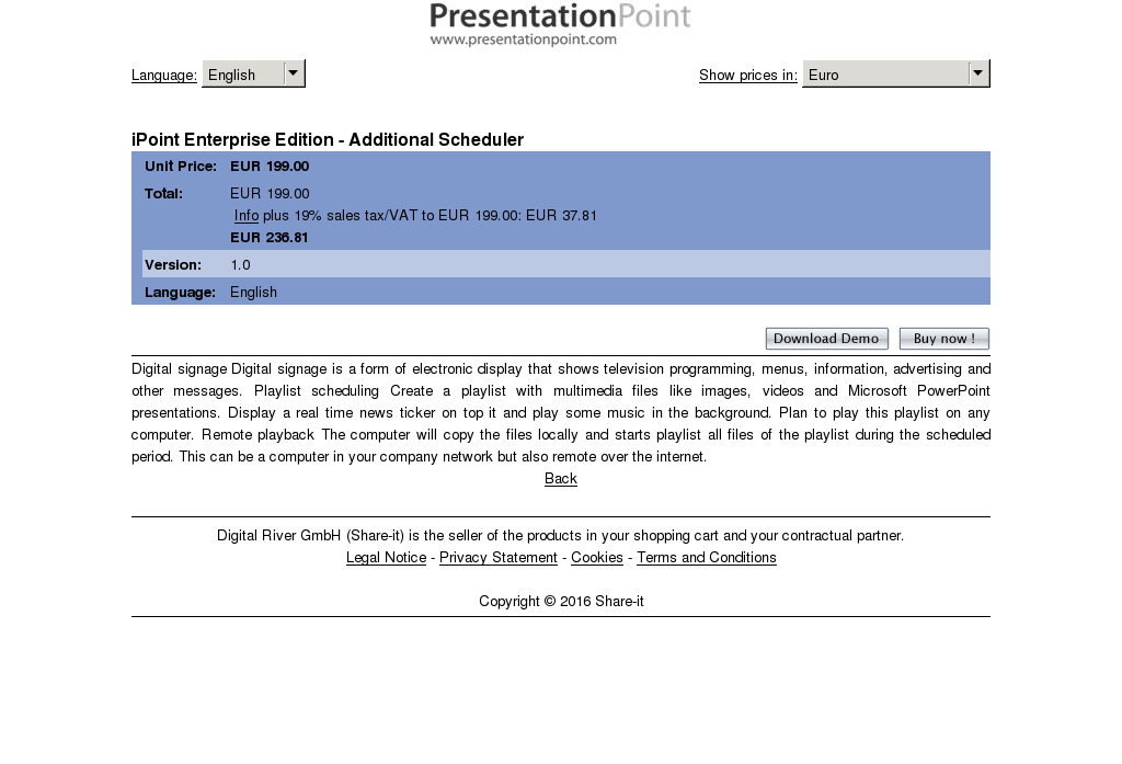 Ipoint Enterprise Edition Additional Scheduler Features