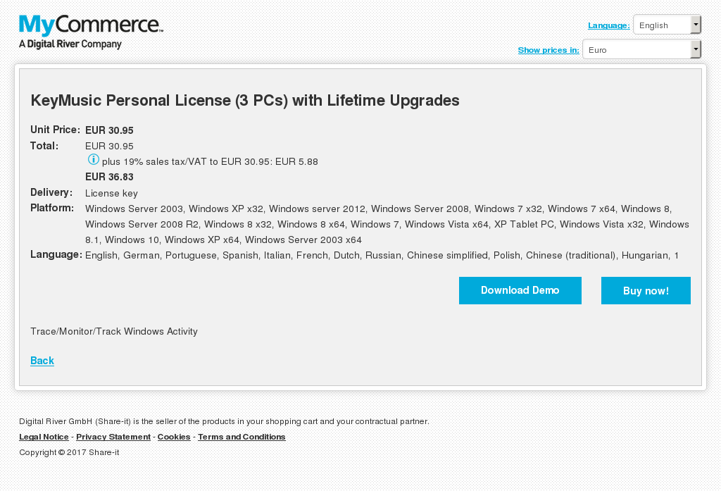 Keymusic Personal License Pcs With Lifetime Upgrades Download
