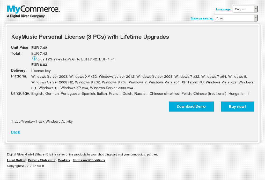 Keymusic Personal License Pcs With Lifetime Upgrades Free