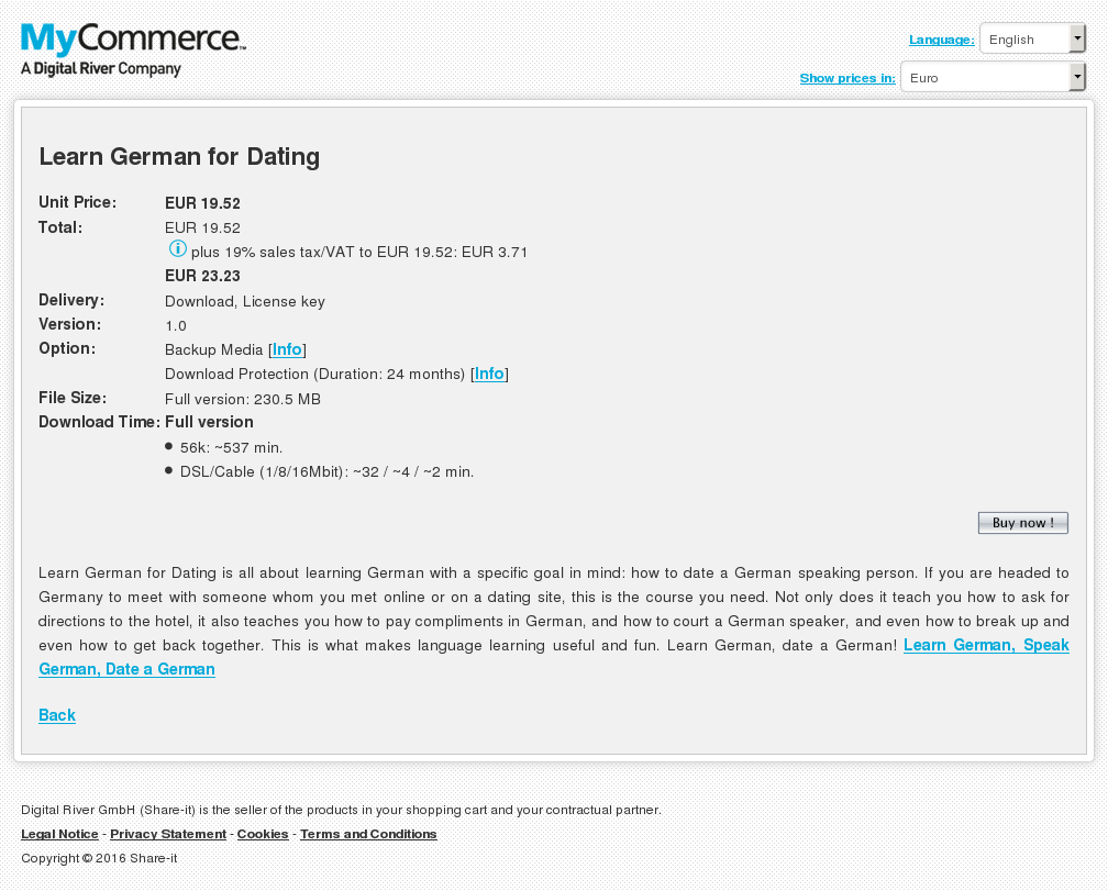 Learn German Dating Howto