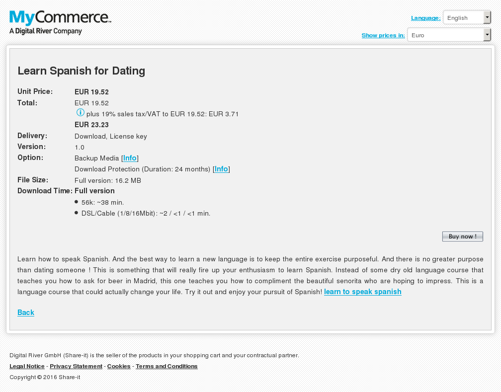 Learn Spanish Dating Review