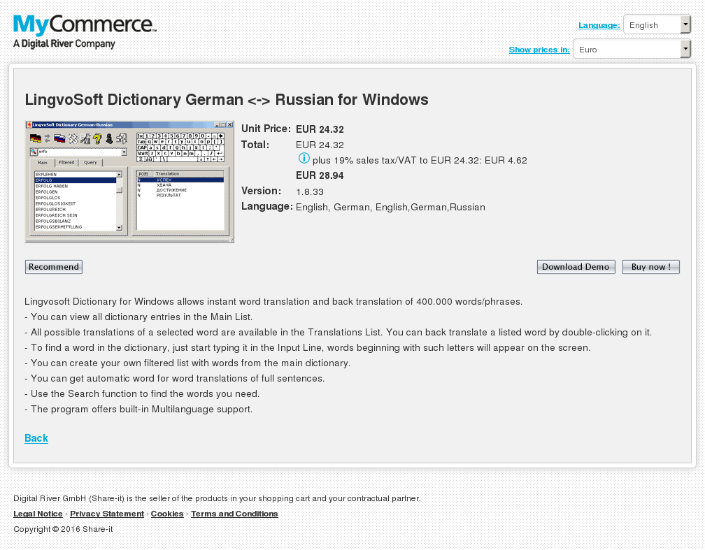 Lingvosoft Dictionary German Russian Windows Howto