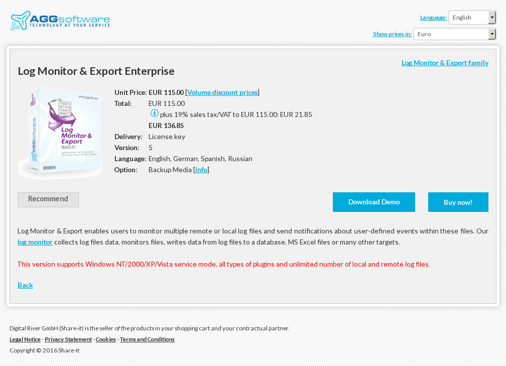 Log Monitor Export Enterprise Review