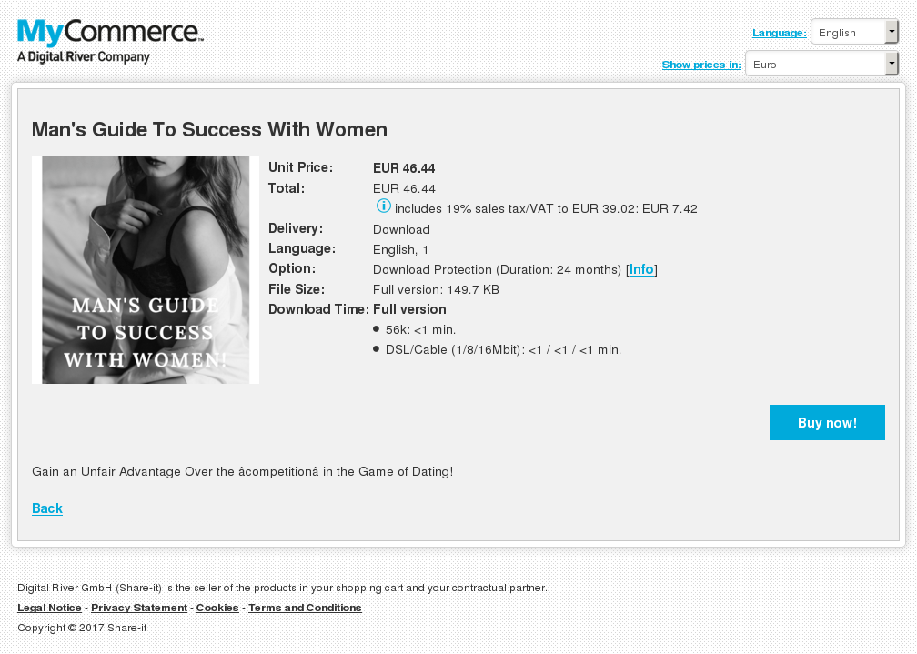Man Guide Success With Women Review