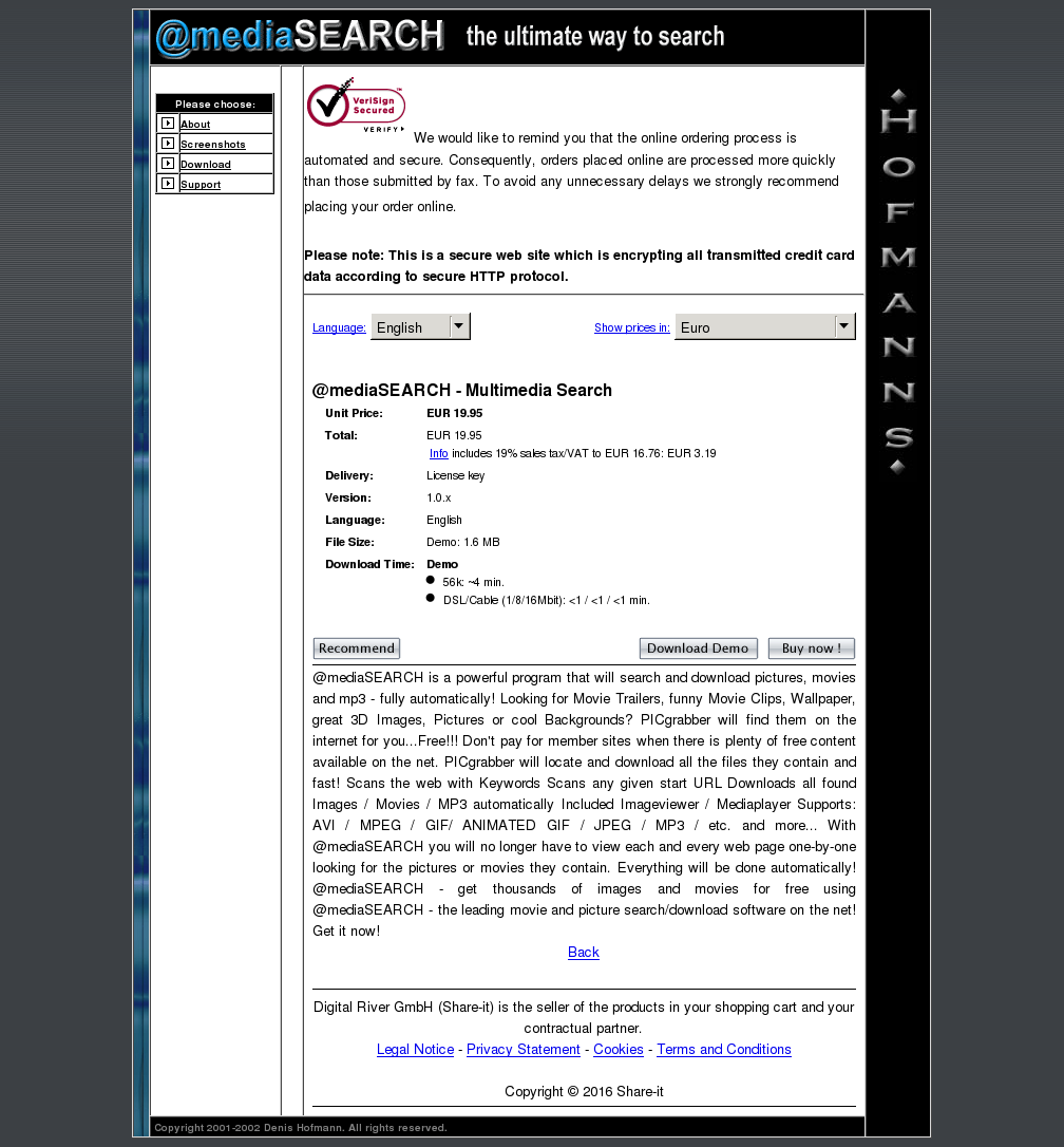 Mediasearch Multimedia Search Howto