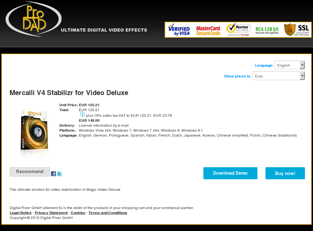Mercalli Stabilizr Video Deluxe Download