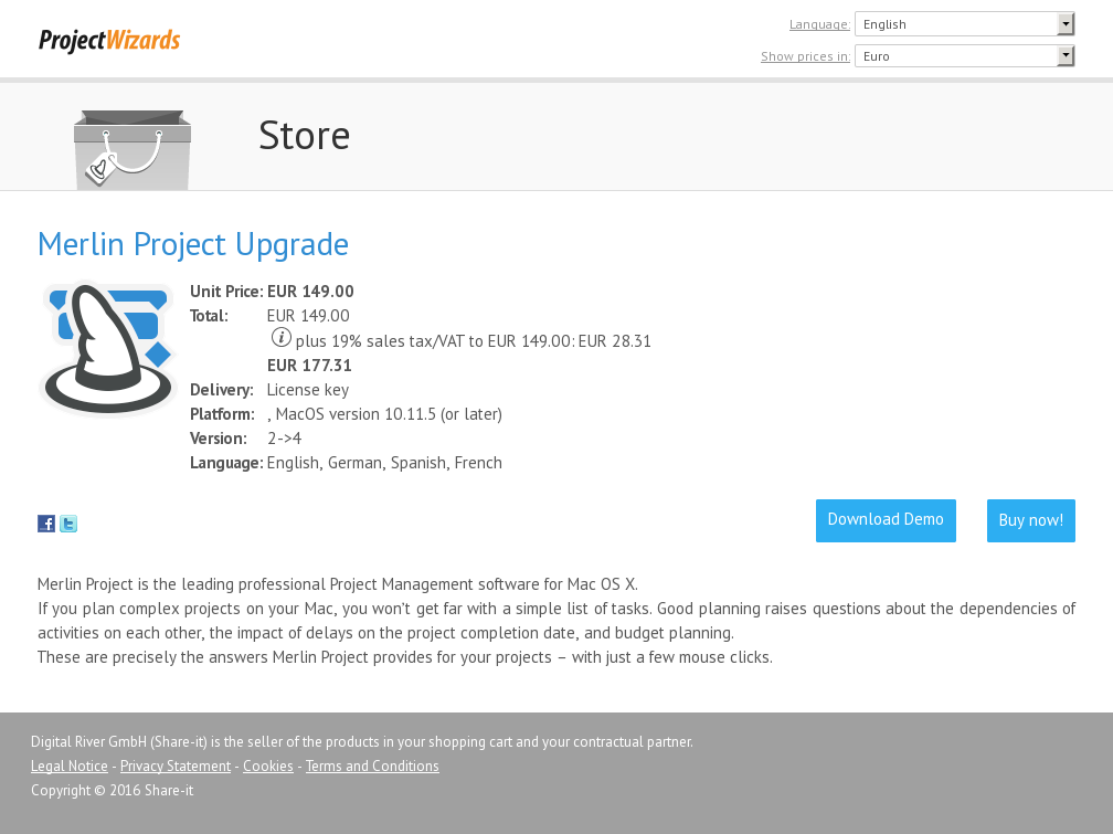 Merlin Project Upgrade Download
