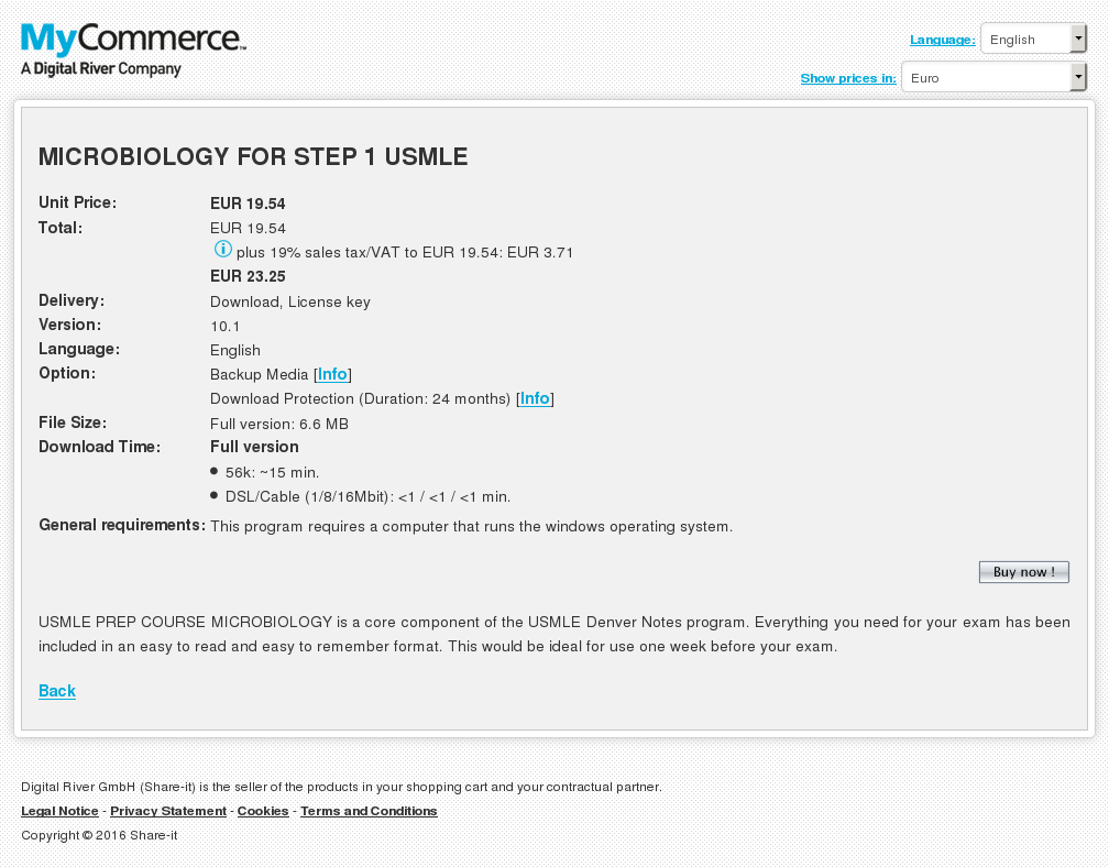 Microbiology Step Usmle Review