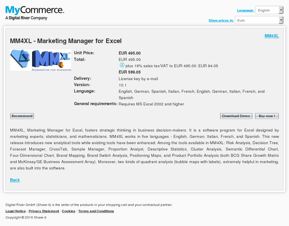 Mmxl Marketing Manager Excel Download