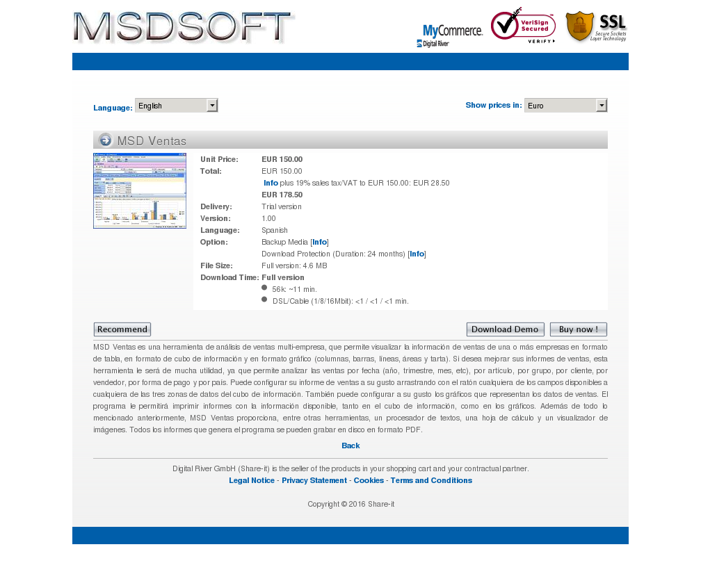 Msd Ventas Alternative