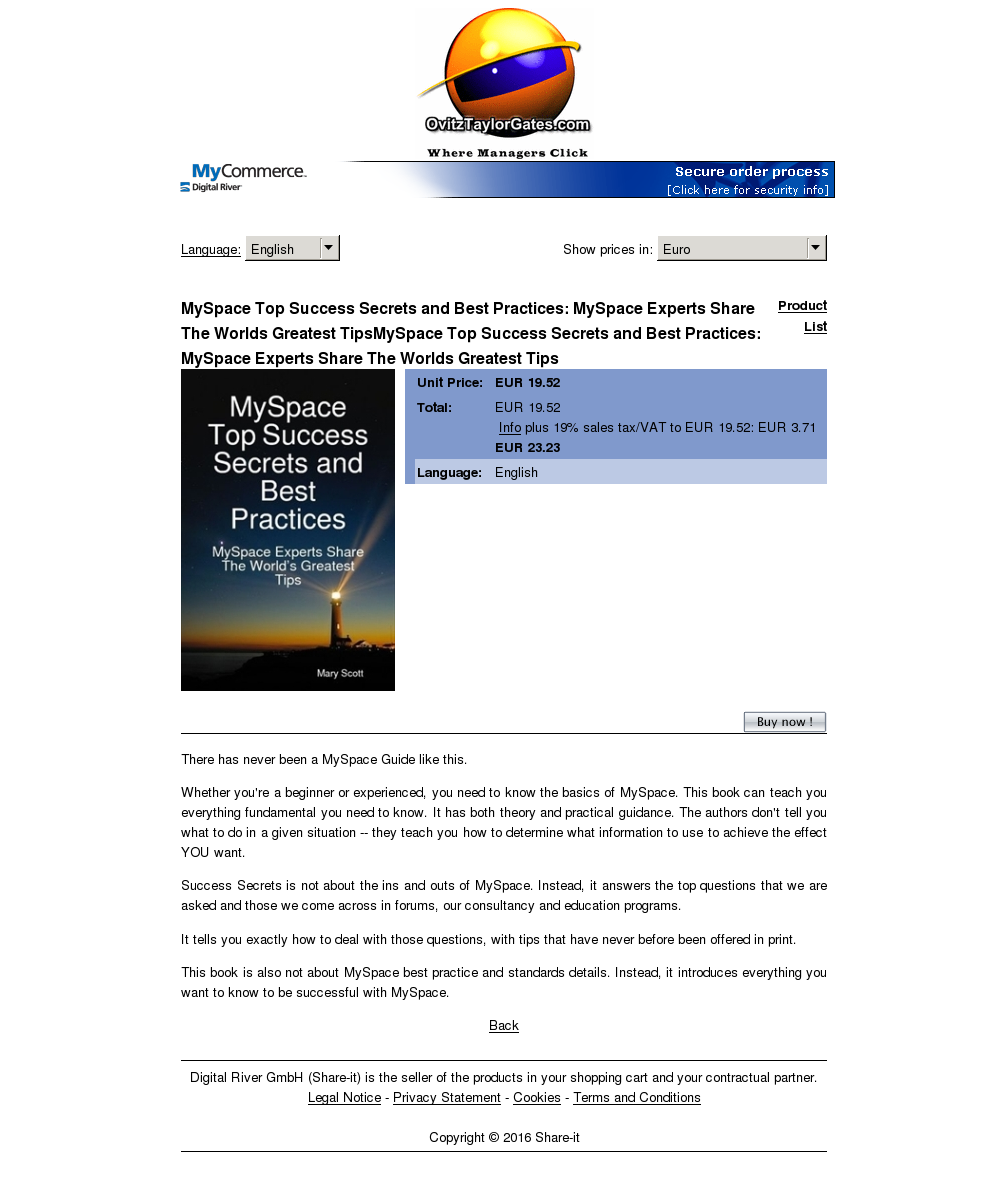 Myspace Top Success Secrets Best Practices Experts Share Worlds Greatest Tipsmyspace Tips Features