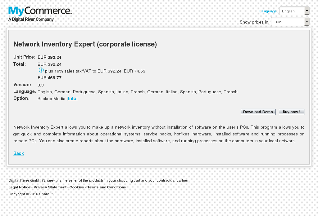 Network Inventory Expert Corporate License Download