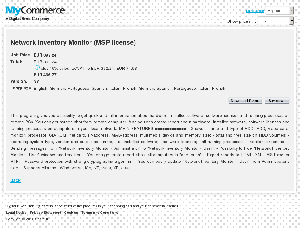Network Inventory Monitor Msp License Howto