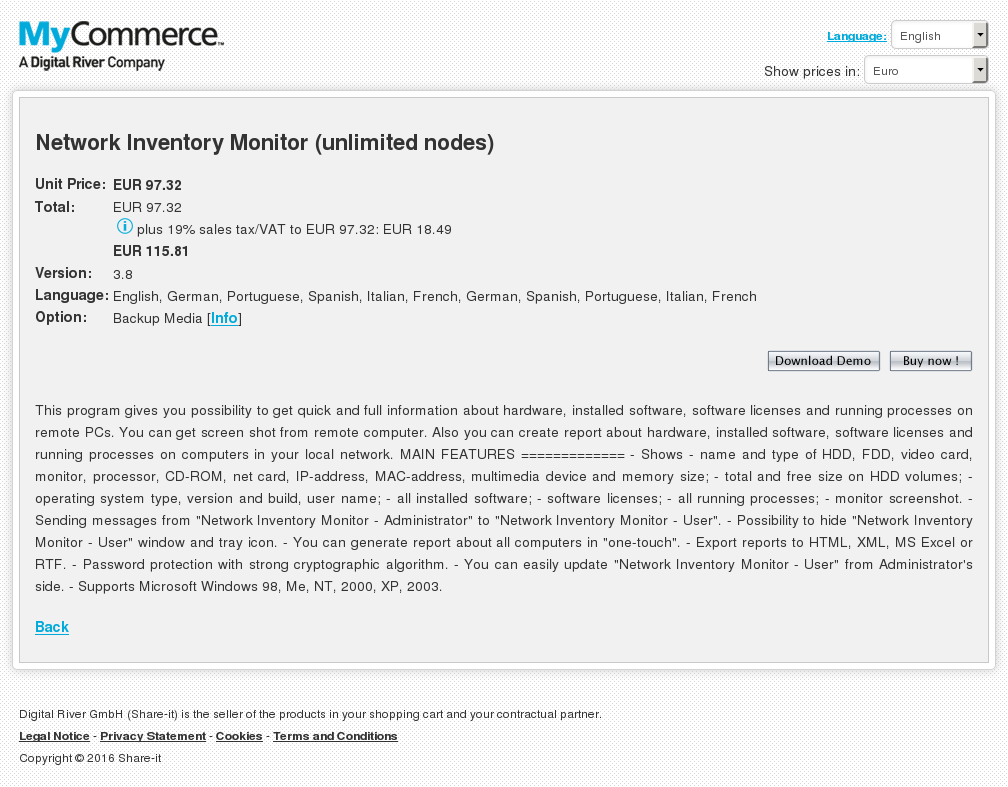 Network Inventory Monitor Unlimited Nodes Free