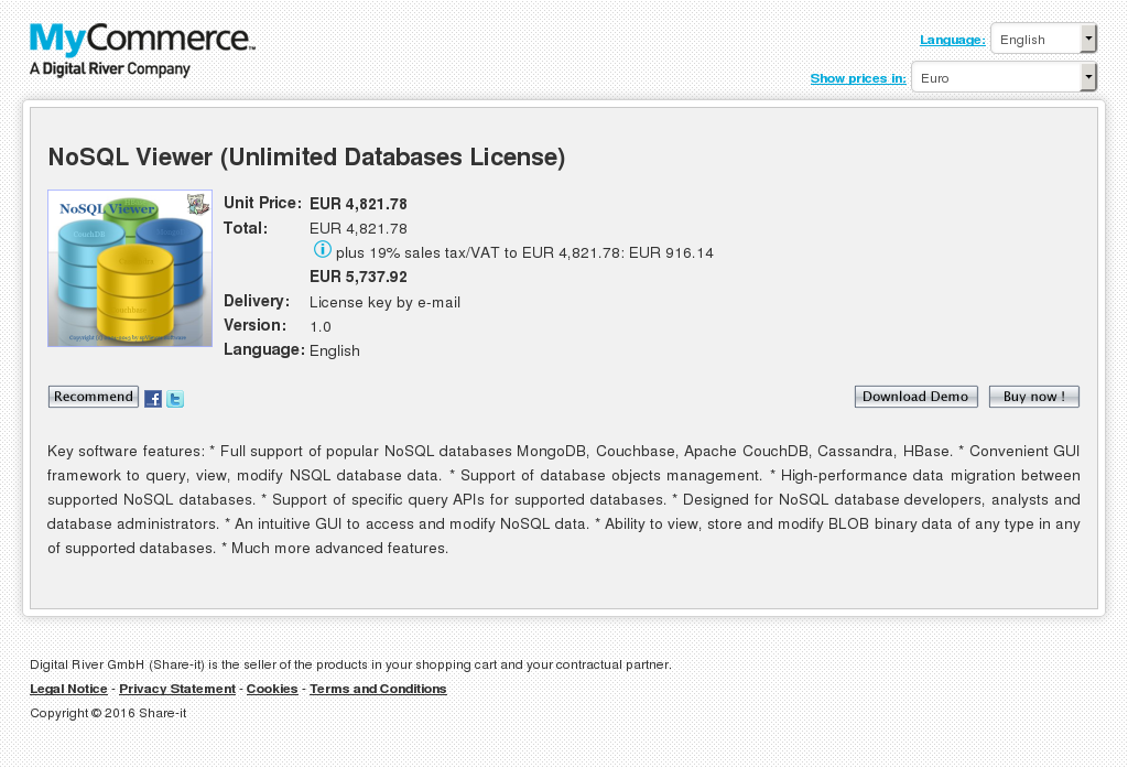 Nosql Viewer Unlimited Databases License Alternative