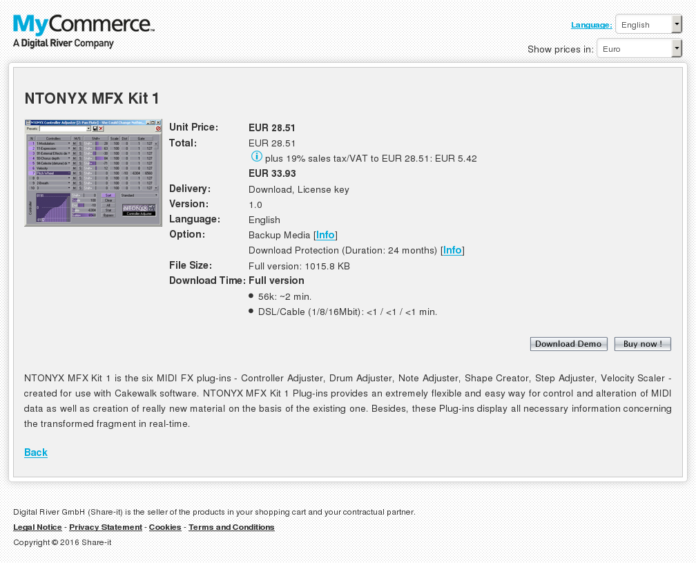 Ntonyx Mfx Kit Features