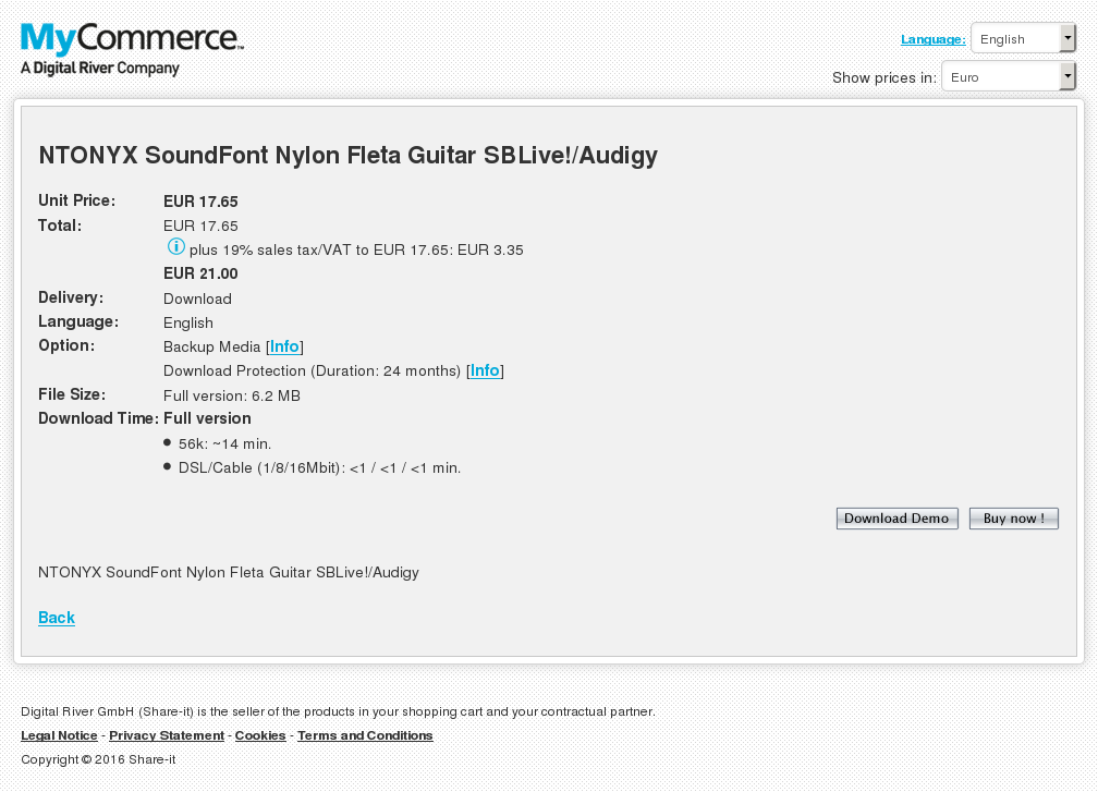 Ntonyx Soundfont Nylon Fleta Guitar Sblive Audigy Download