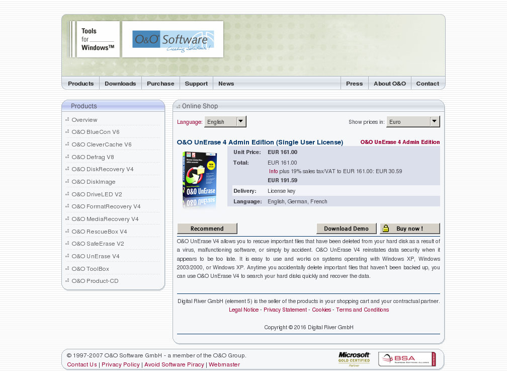 Unerase Admin Edition Single User License Review