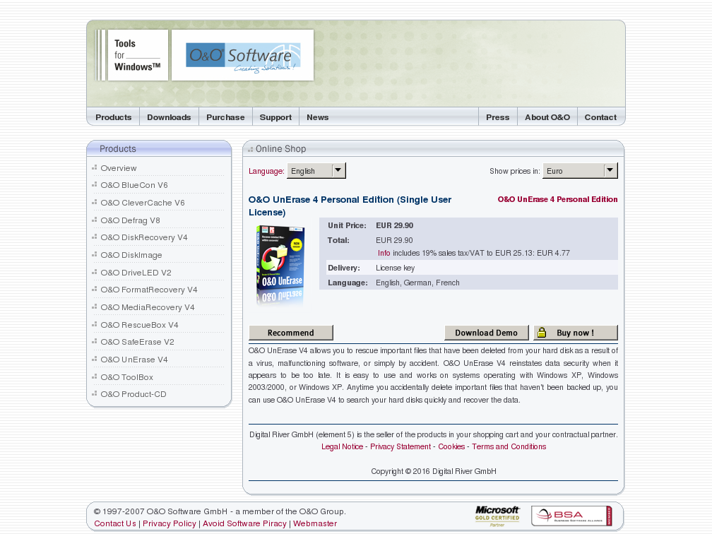 Unerase Personal Edition Single User License Download
