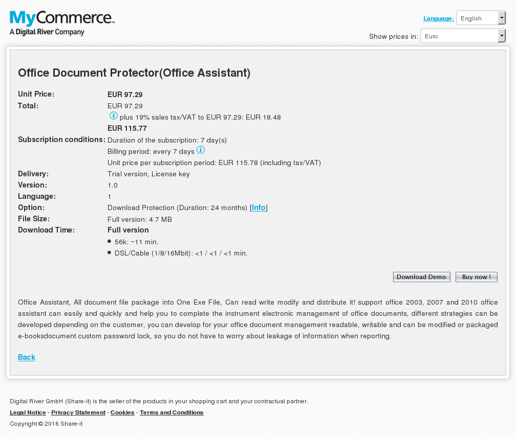 Office Document Protector Assistant Alternative