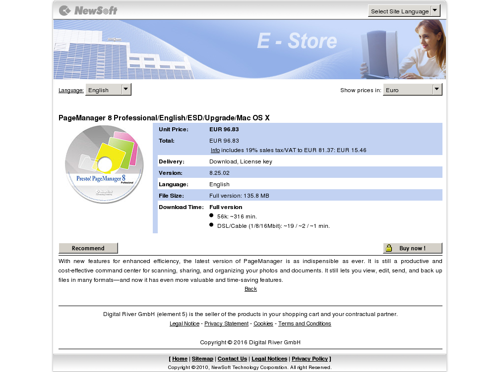 Pagemanager Professional English Esd Upgrade Mac Download