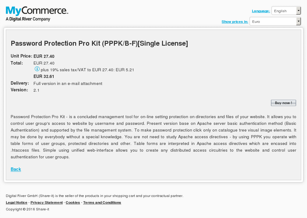 Password Protection Pro Kit Pppk Single License Review