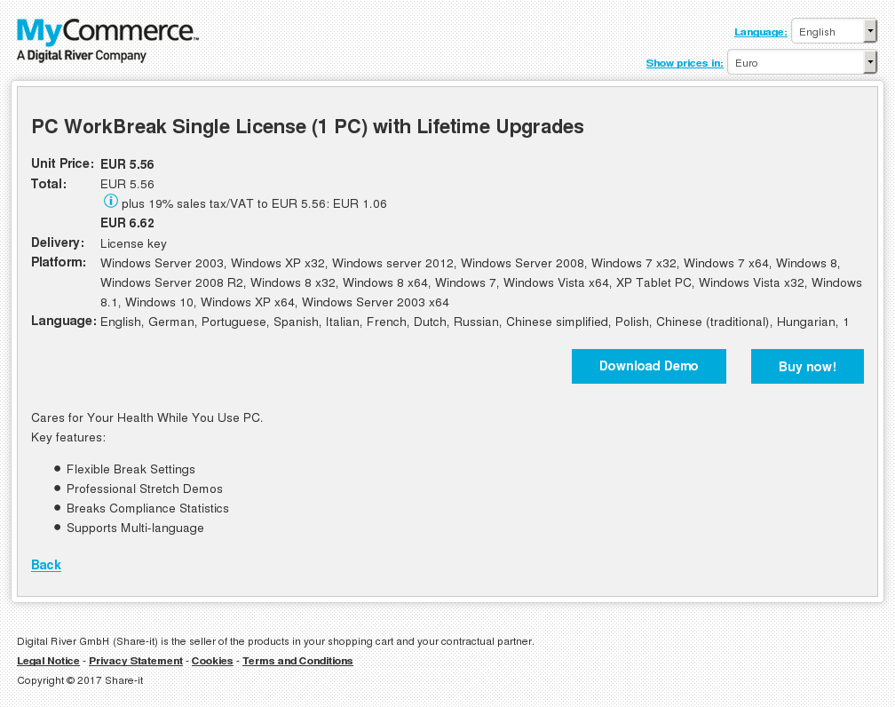 Workbreak Single License With Lifetime Upgrades Free
