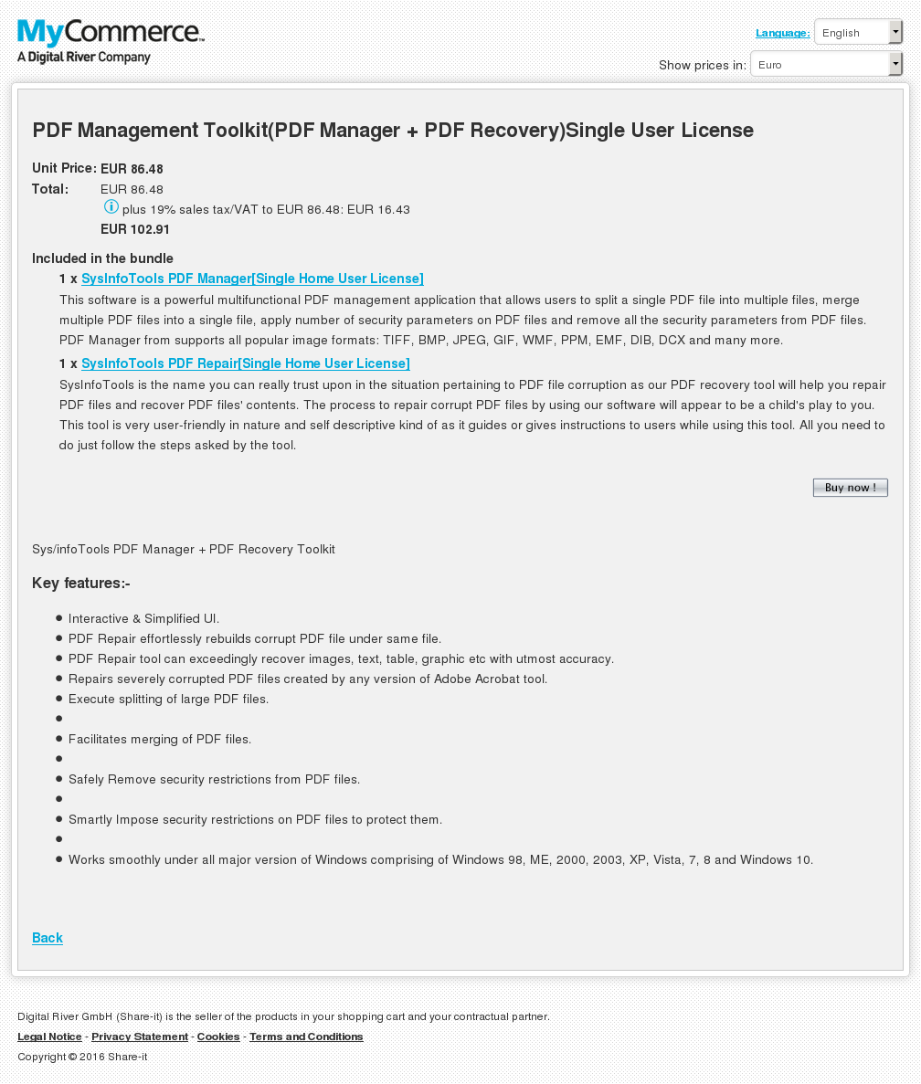 Pdf Management Toolkit Manager Recovery Single User License Alternative