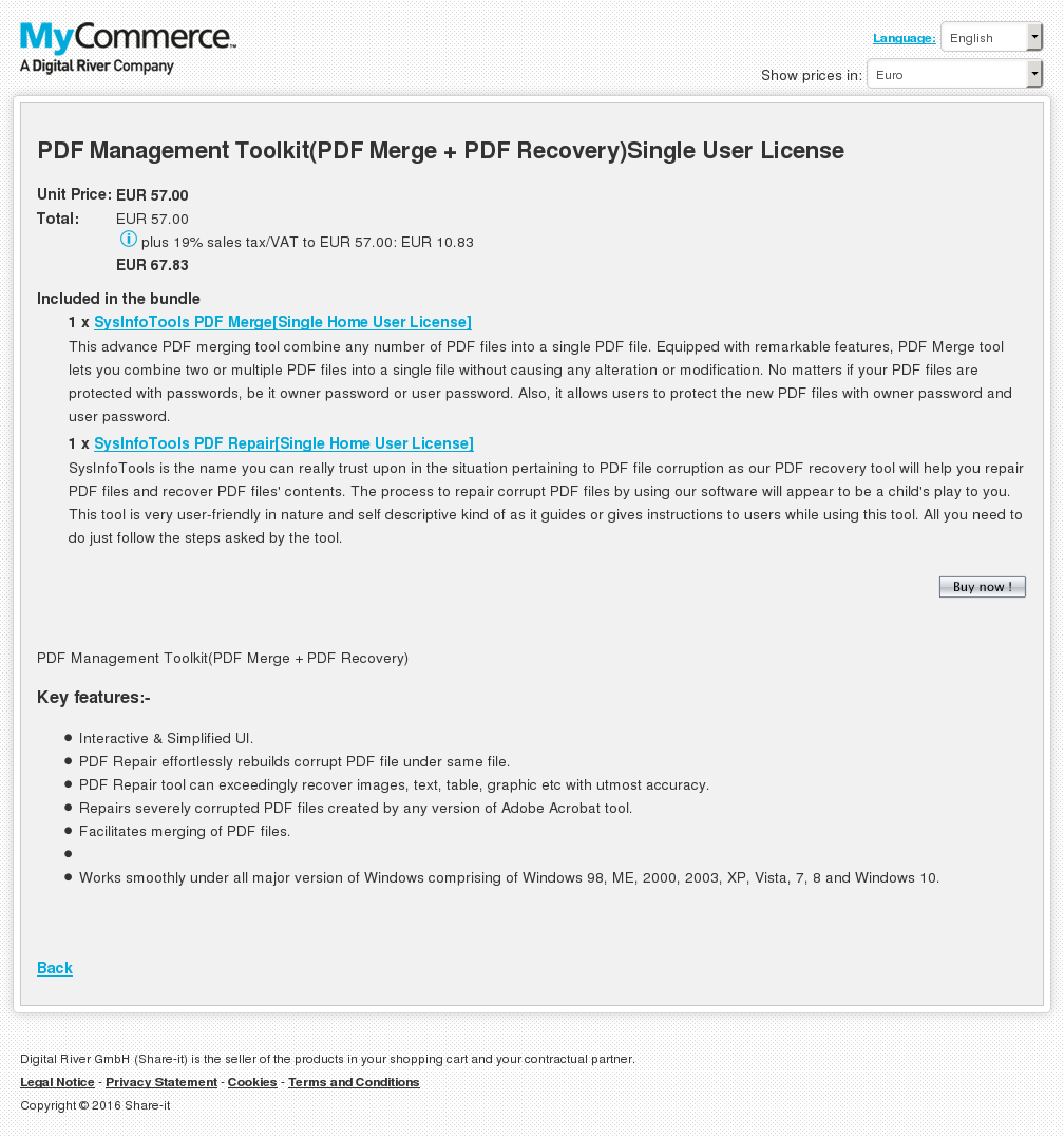 Pdf Management Toolkit Merge Recovery Single User License Review