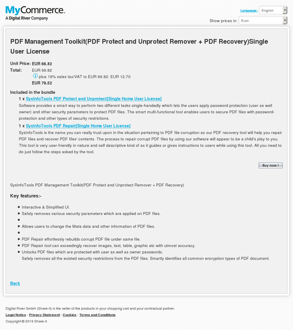 Pdf Management Toolkit Protect Unprotect Remover Recovery Single User License Download