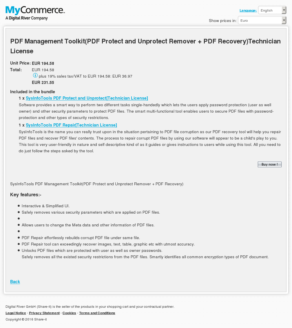 Pdf Management Toolkit Protect Unprotect Remover Recovery Technician License Key Information