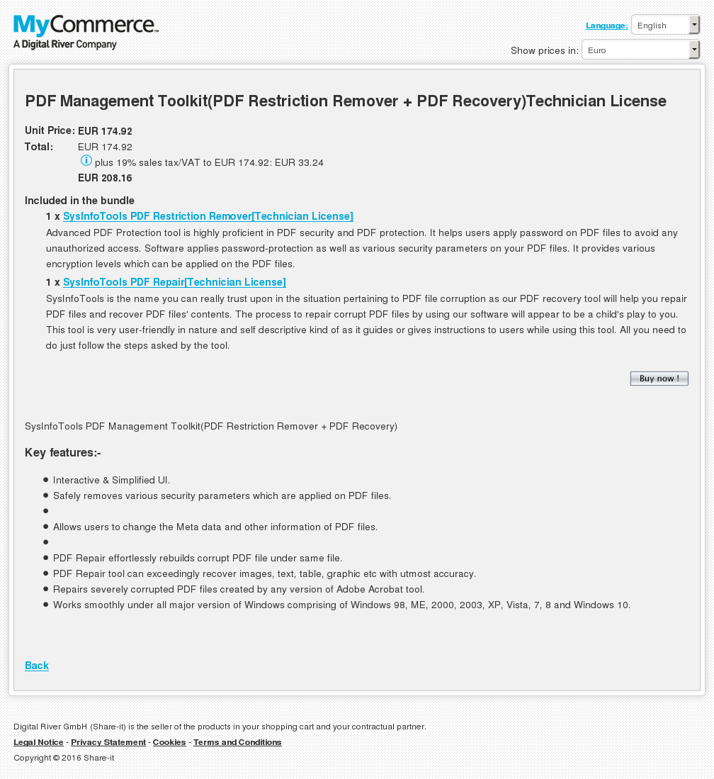 Pdf Management Toolkit Restriction Remover Recovery Technician License Review