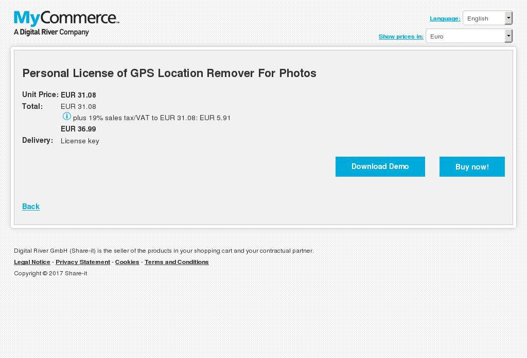 Personal License Gps Location Remover Photos Features