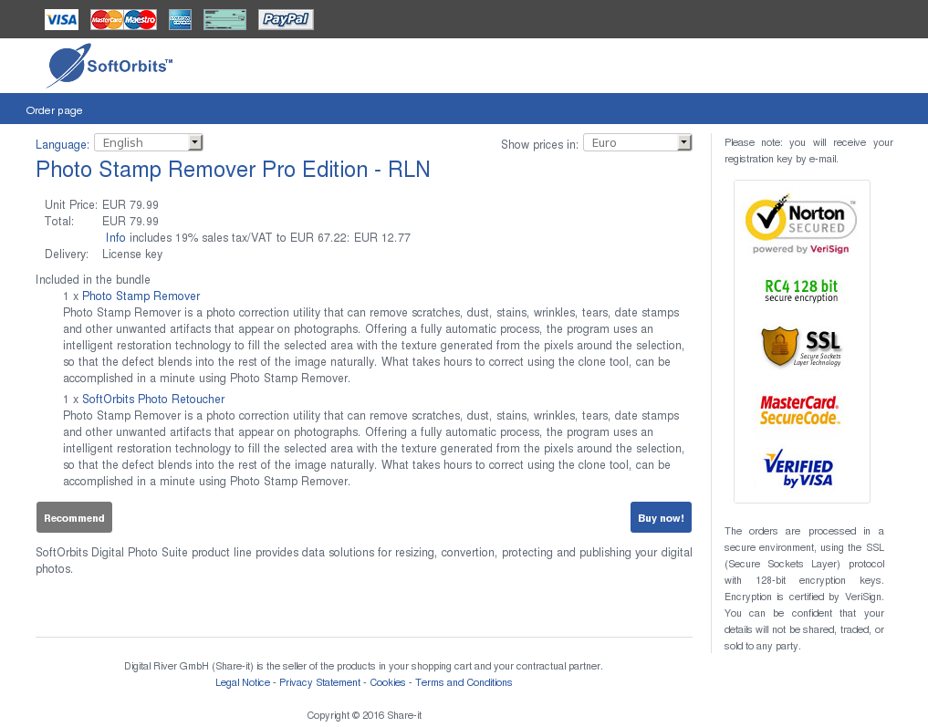 Photo Stamp Remover Pro Edition Rln Features
