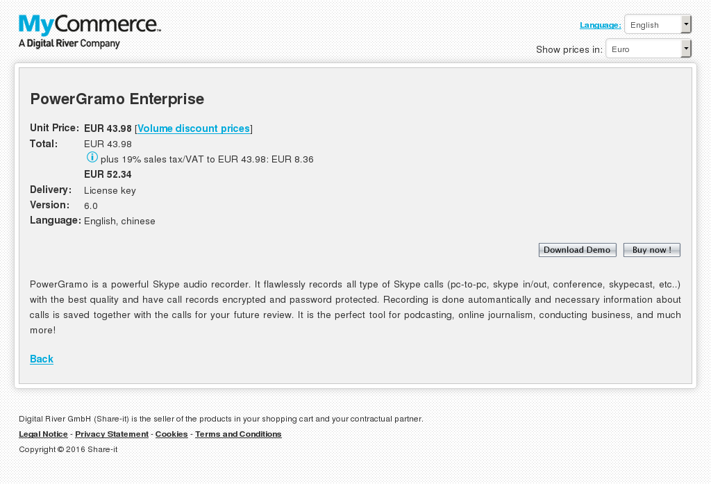 Powergramo Enterprise Download
