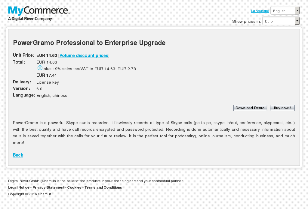 Powergramo Professional Enterprise Upgrade Features