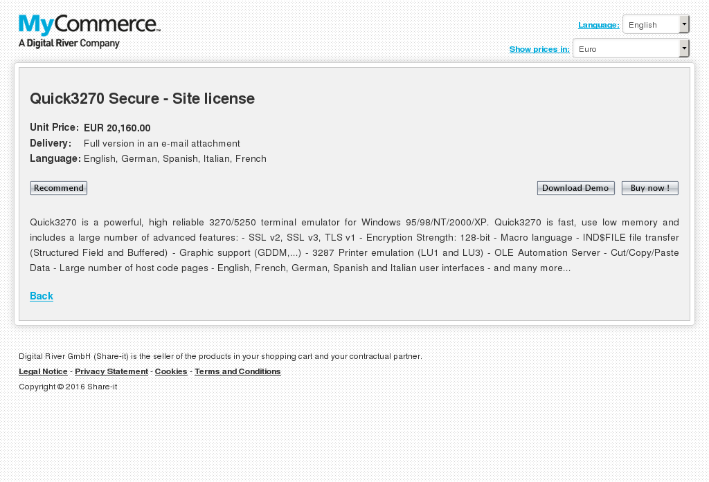 Quick Secure Site License Review