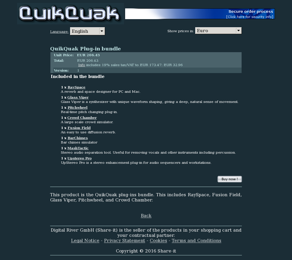 Quikquak Plug Bundle Download