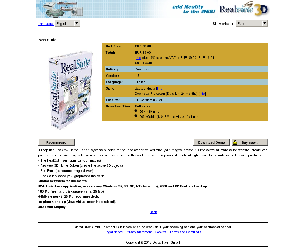 Realsuite Free