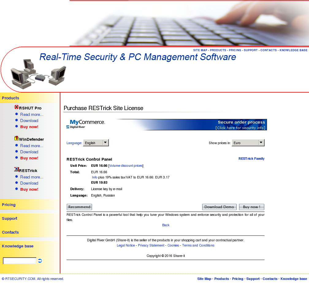 Restrick Unlimited License Features