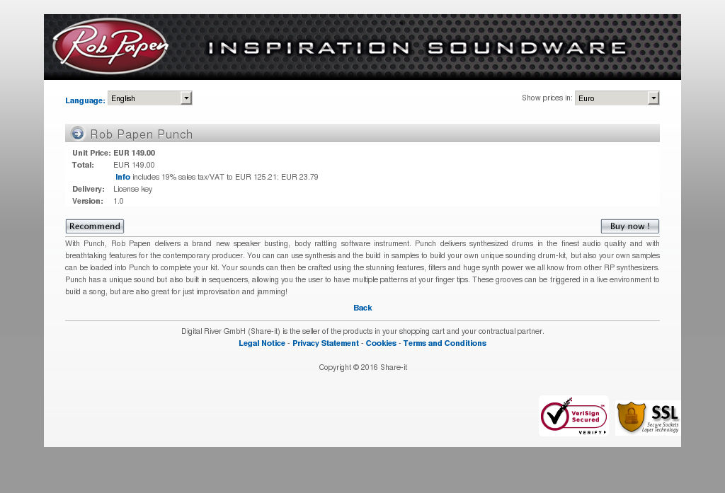 Rob Papen Punch Alternative