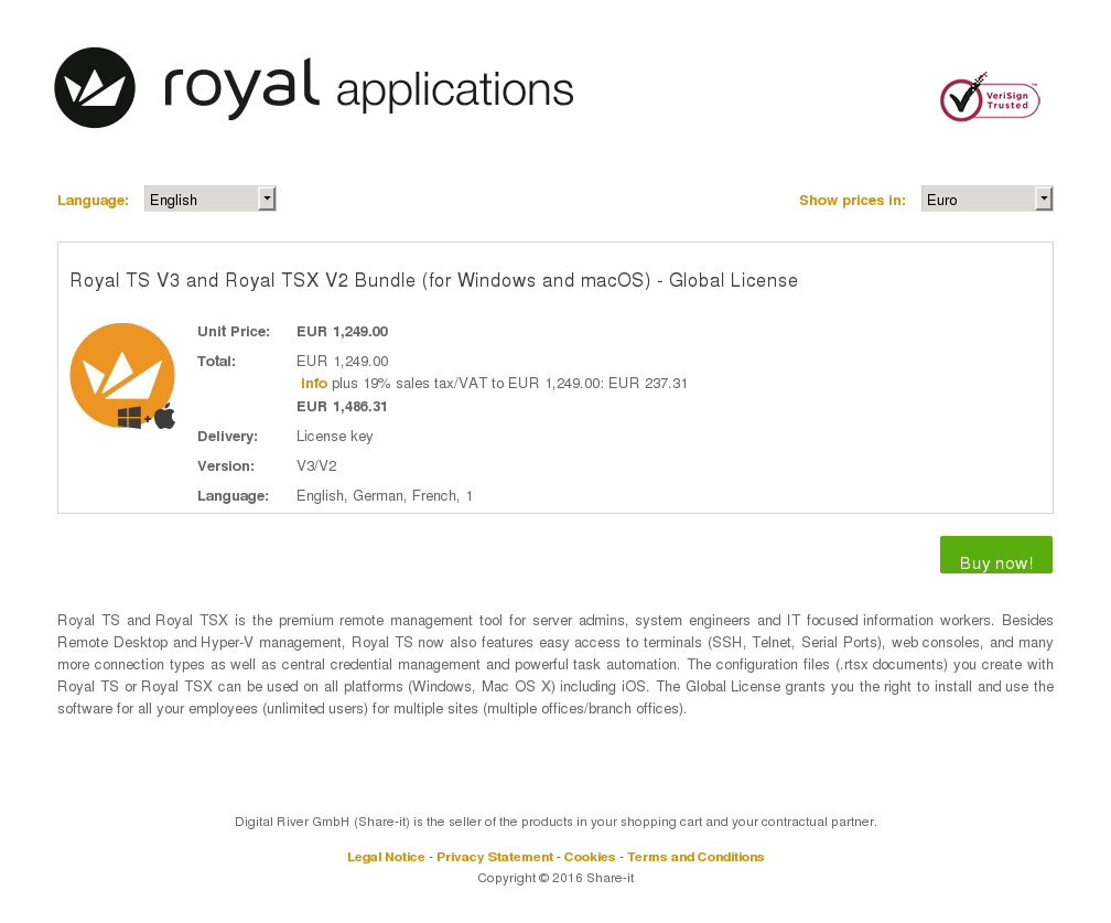 Royal Tsx Bundle Windows Macos Global License Download