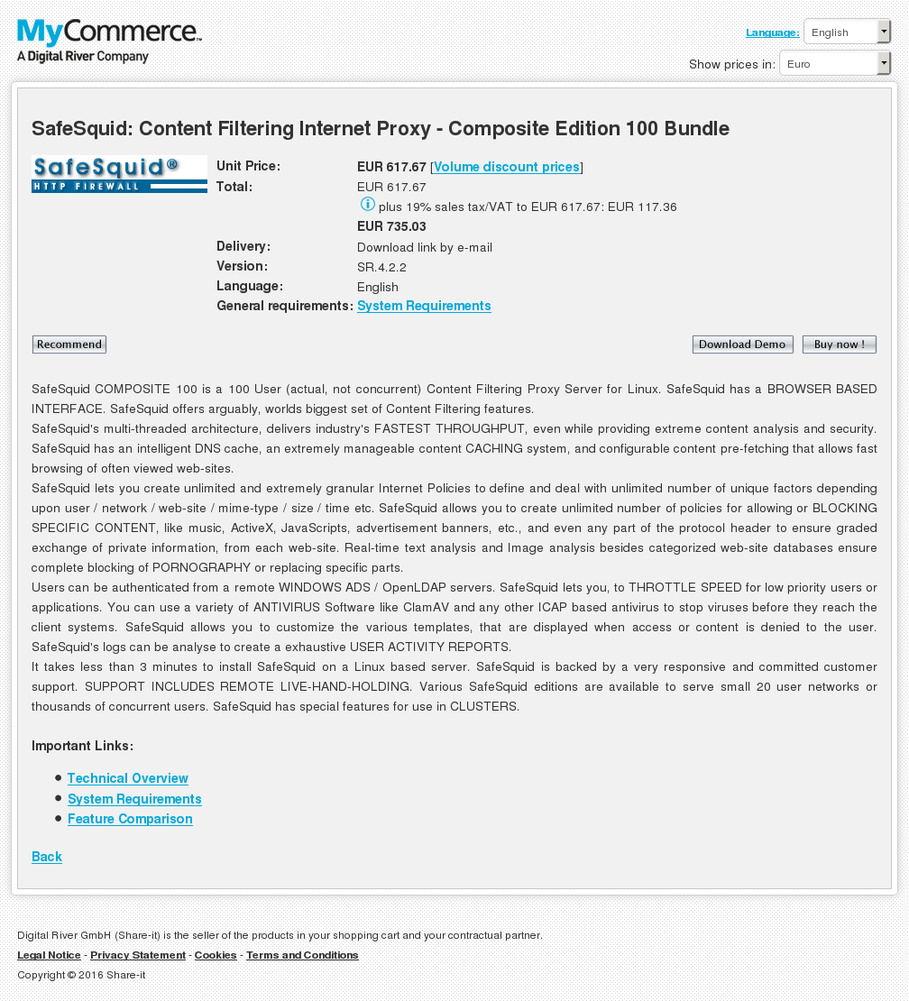 Safesquid Content Filtering Internet Proxy Composite Edition Bundle Download