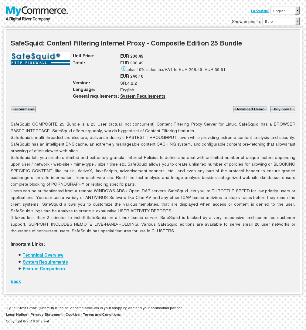 Safesquid Content Filtering Internet Proxy Composite Edition Bundle Review