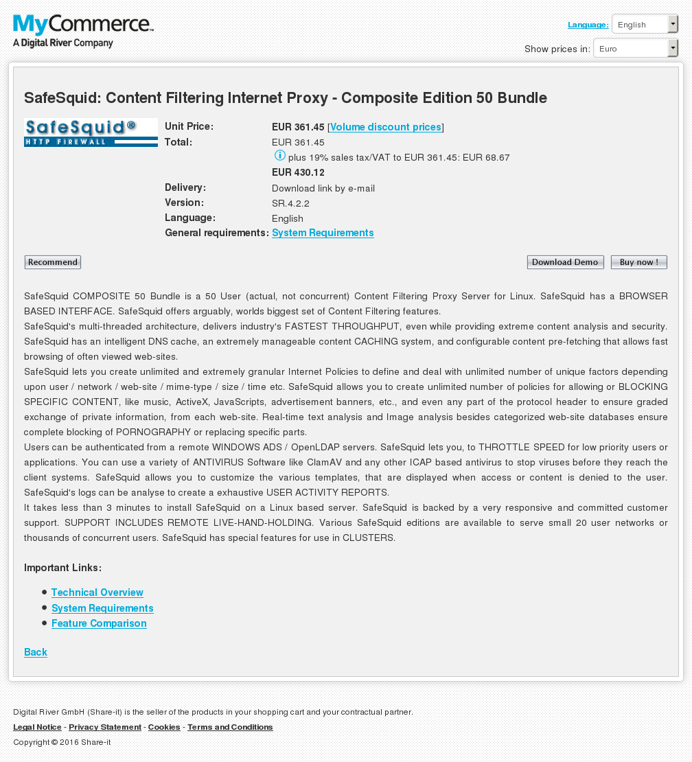 Safesquid Content Filtering Internet Proxy Composite Edition Bundle Howto