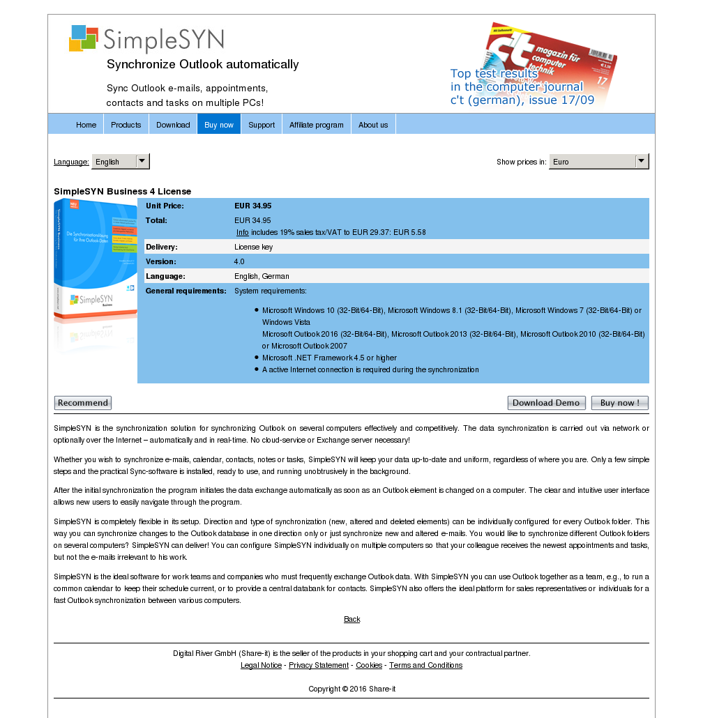 Simplesyn Business License Free