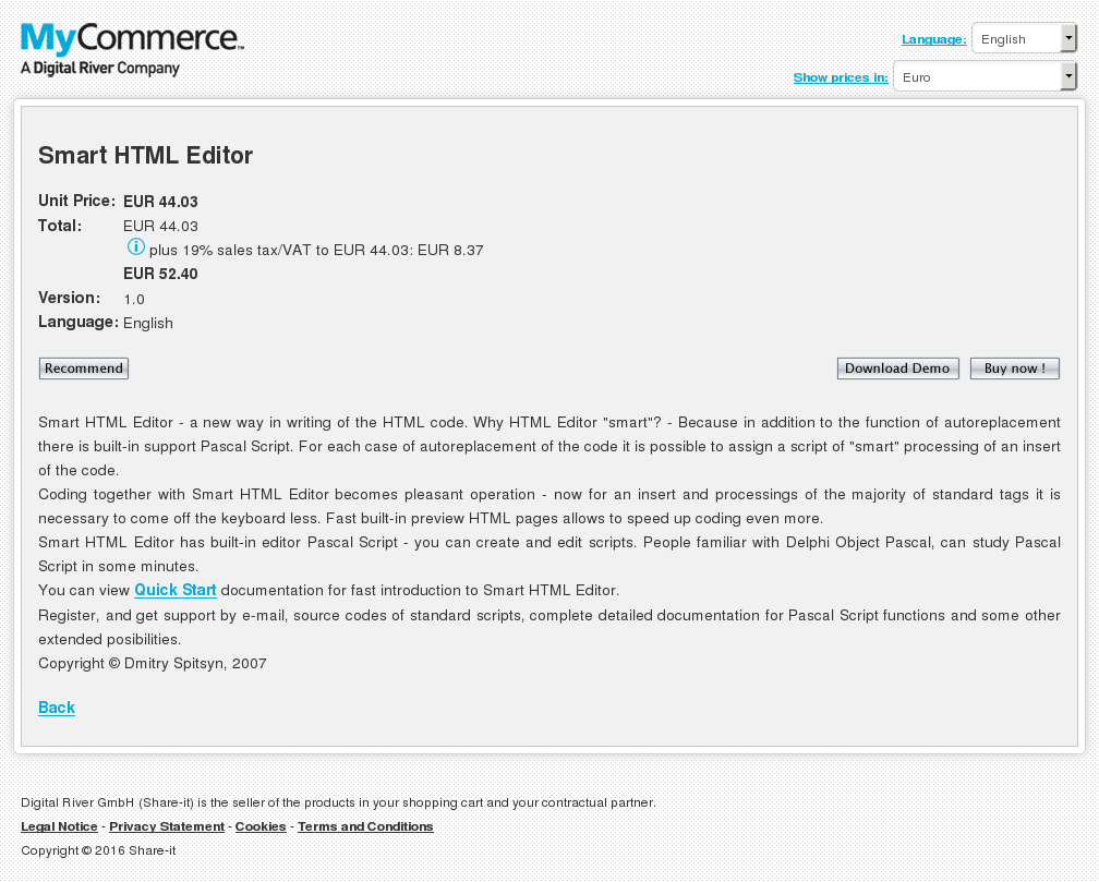 Smart Html Editor Review