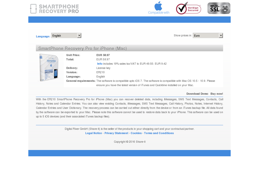 Smartphone Recovery Pro Iphone Mac Review